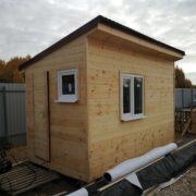 Мы достроили домик для волонтеров